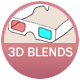 3d Blends: Decaf Dessert Drinks badge