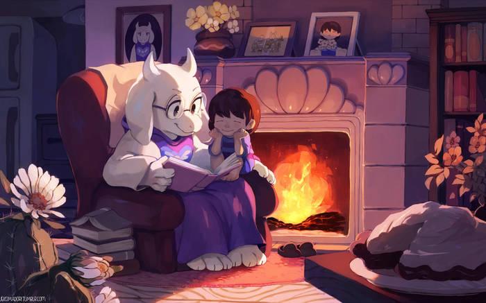 Toriel the loving mother
