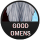 Good Omens badge
