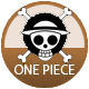 One Piece badge