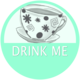 Drink Me badge