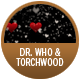 Doctor Who/Torchwood badge