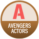 Avengers Actors badge