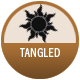 Tangled badge