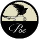 Edgar Allan Poe badge