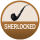 Sherlocked badge