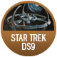 Star Trek Ds9 badge
