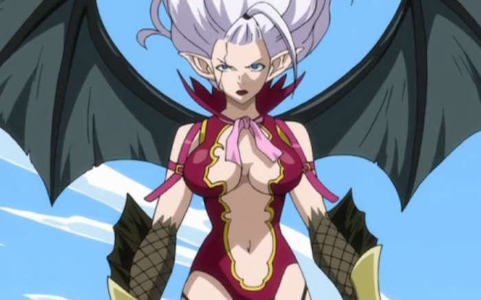 Mirajane Strauss Satan Soul Tea Mirajane strauss, the sorcerer's weekly magazine model from fairy tail. mirajane strauss satan soul